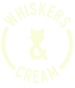 Whiskers & Cream Logo
